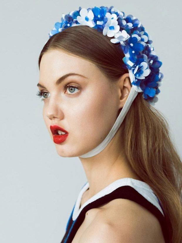 Куколка Линдси Виксон на обложке Harper's Bazaar