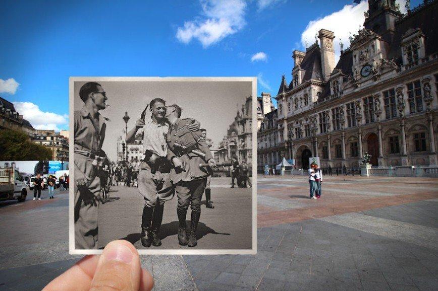 Париж: окна в прошлое: [i][b]Отель-де-Виль, 1944[/b][/i]