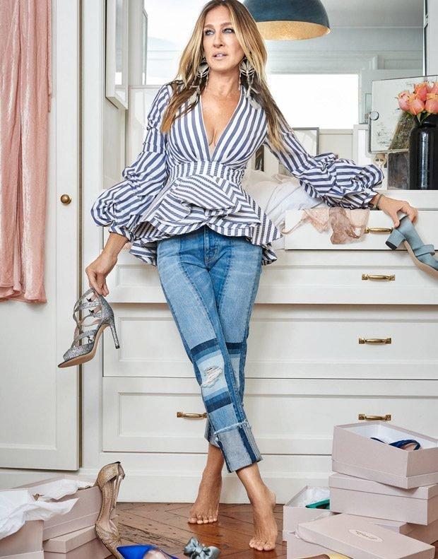 Сара Джессика Паркер и ее туфли