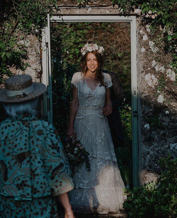 Свадебное платье на домашнем