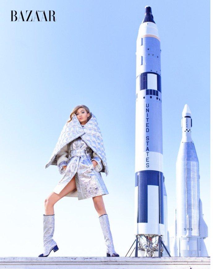 Джиджи Хадид летит в космос