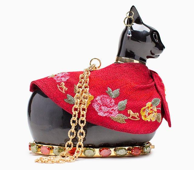 Сумочки-кошки от Ulyana Sergeenko