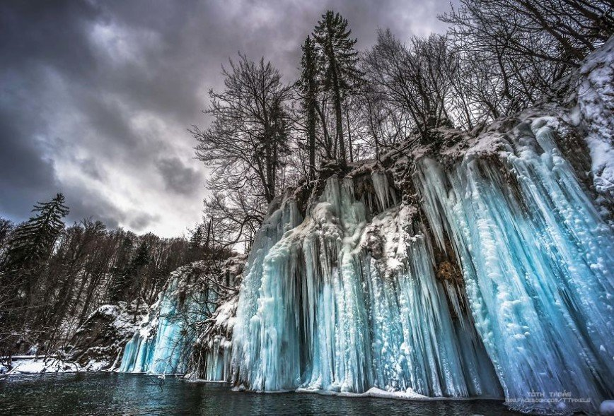 Зимняя сказка Плитвицких озер