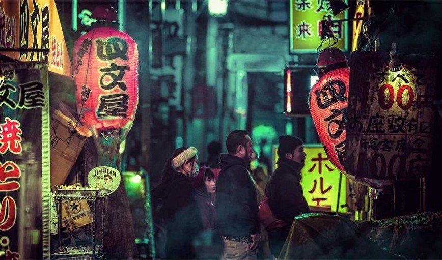 Красота ночного Токио