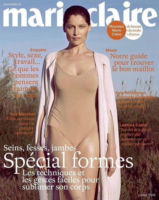 Летиция Каста на обложке Marie Claire France