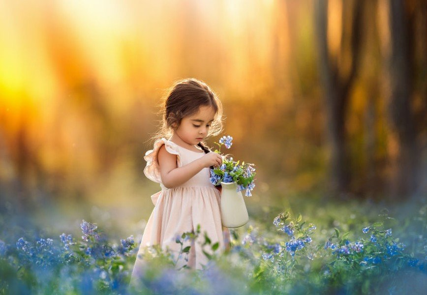 Секреты волшебных детских фотографий