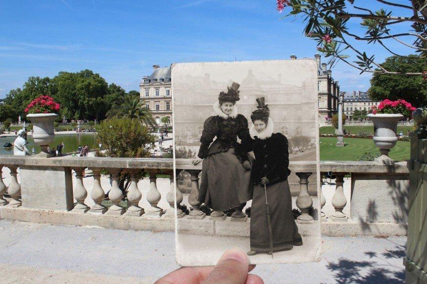 Париж: окна в прошлое: [b][i]Люксембургский сад, 1895[/b][/i]