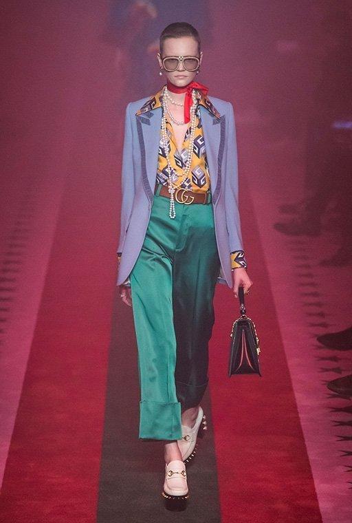 Gucci Spring 2017 Menswear Fashion Show Details Ручная
