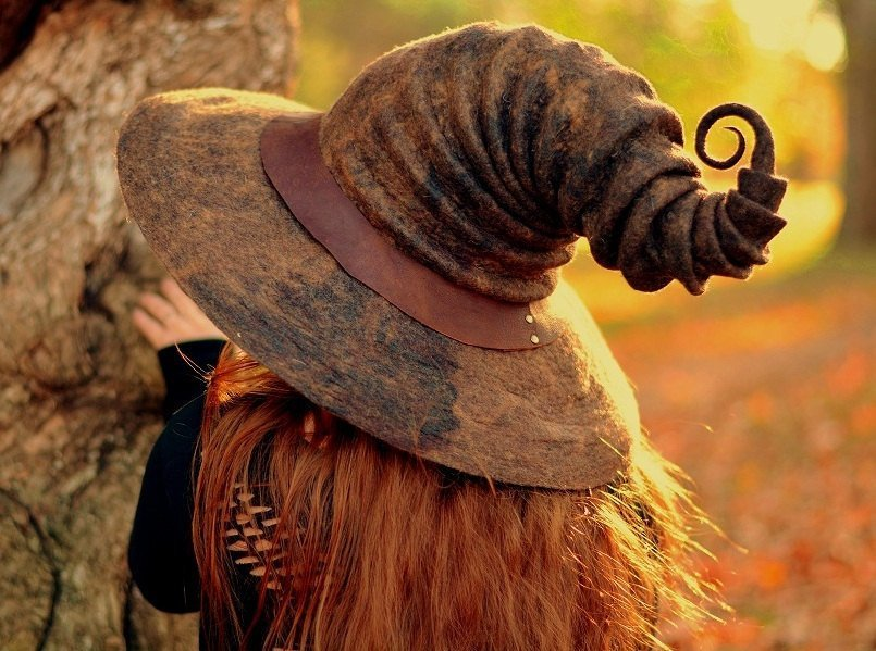 Шляпы для настоящих ведьм на Хэллоуин