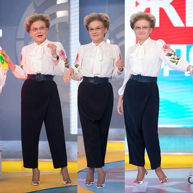 Модный доктор: как актуальная одежда преобразила Елену Малышеву