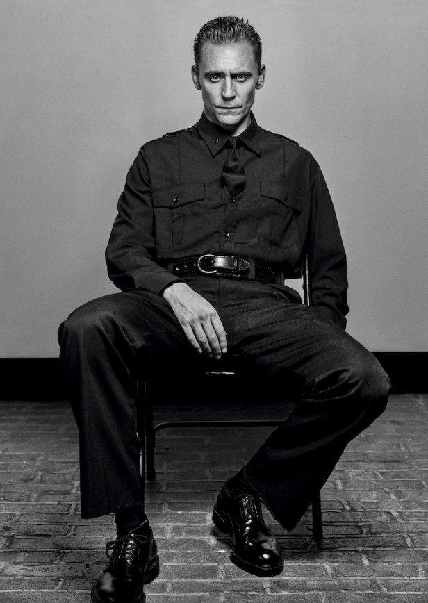 Том Хиддлстон на обложке Interview Magazine