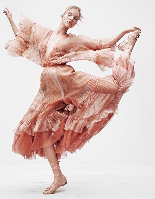 Саша Лусс стала балериной