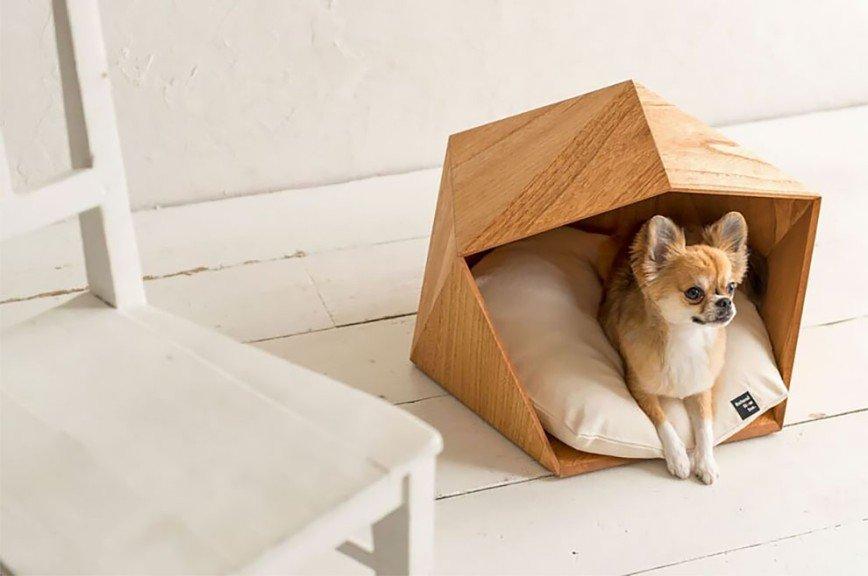 Современные домики для кошек и маленьких собак