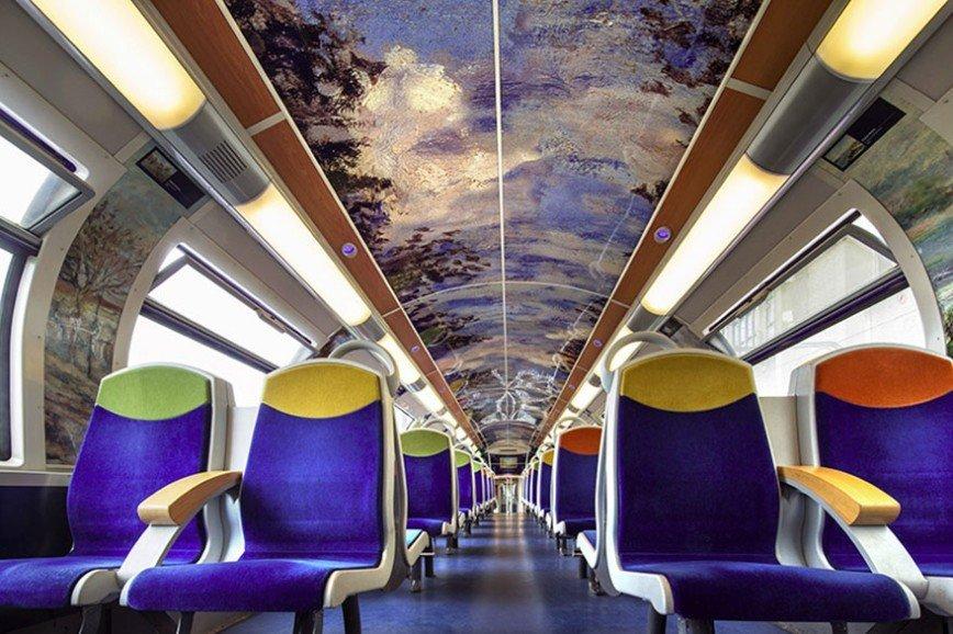 Французские поезда превращаются в музеи