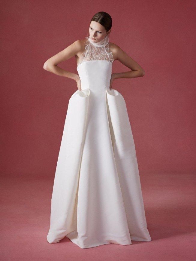 Свадебные платья Oscar de la Renta, осень 2016