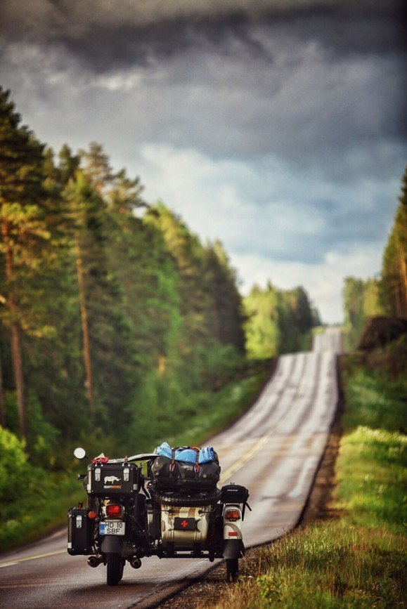 Путешествие по Европе на мотоцикле: [b][i]Бесконечные финские дороги[/b][/i]