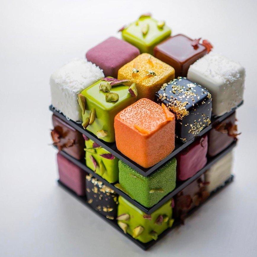 Кубичные шедевры Седрика Гроле