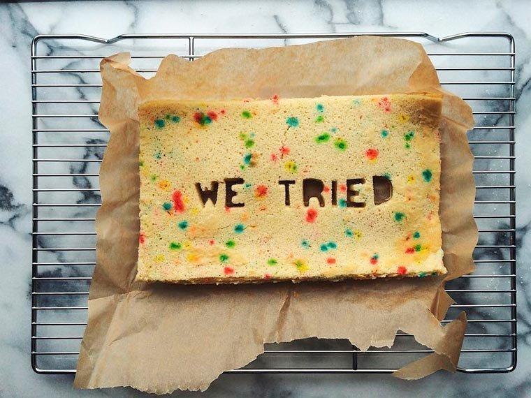 Как превратить расставание в торт