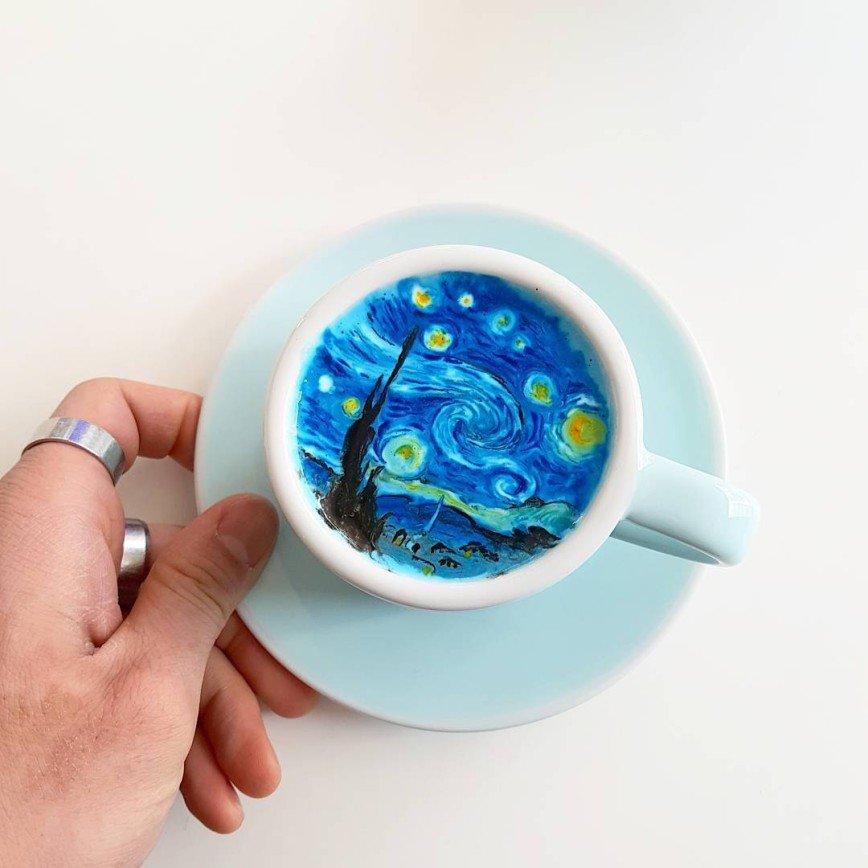 Чашечка кофе с Ван Гогом