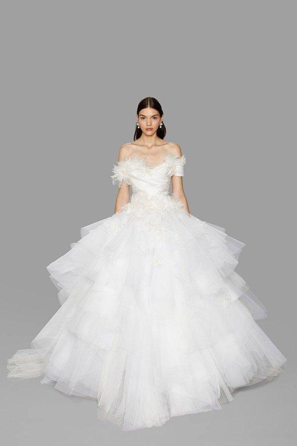 Свадебная коллекция Marchesa, осень 2017