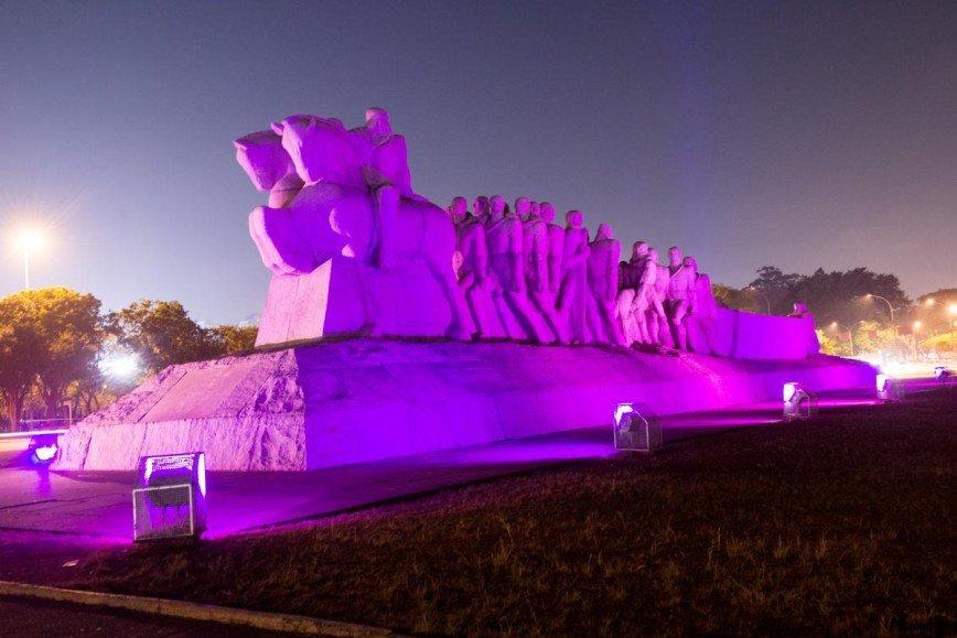 МГУ и Останкинская башня станут фиолетовыми в поддержку пациентов с заболеваниями кишечника
