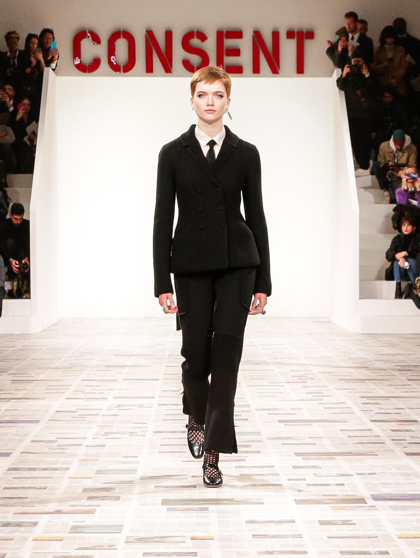 В стиле итальянского феминизма: коллекция Dior Prêt-à-Porte Осень-Зима 2020/2021