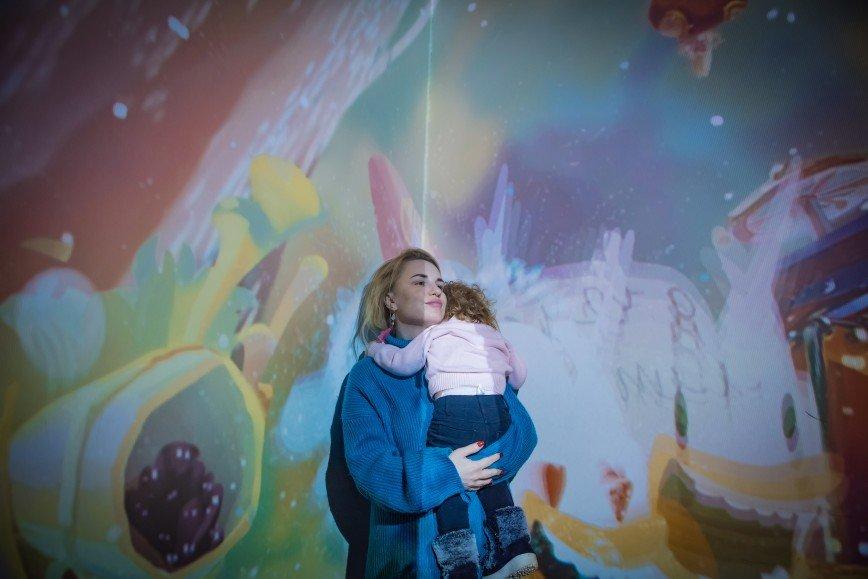 Германика вместе с дочками стали главными героями мультимедийного приключения
