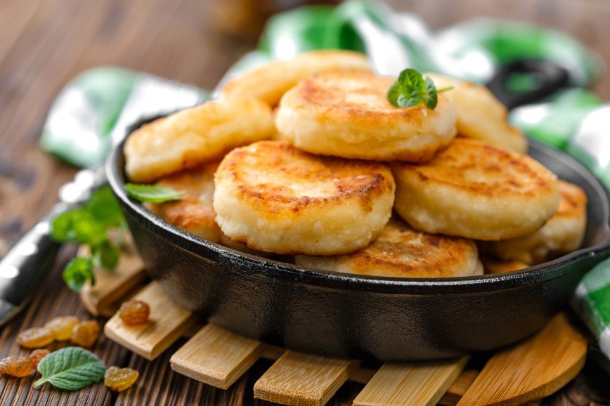 Регина Бурд поделилась секретом приготовления вкусных сырников