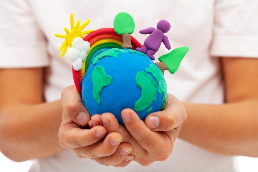 Картинка дети и окружающий мир