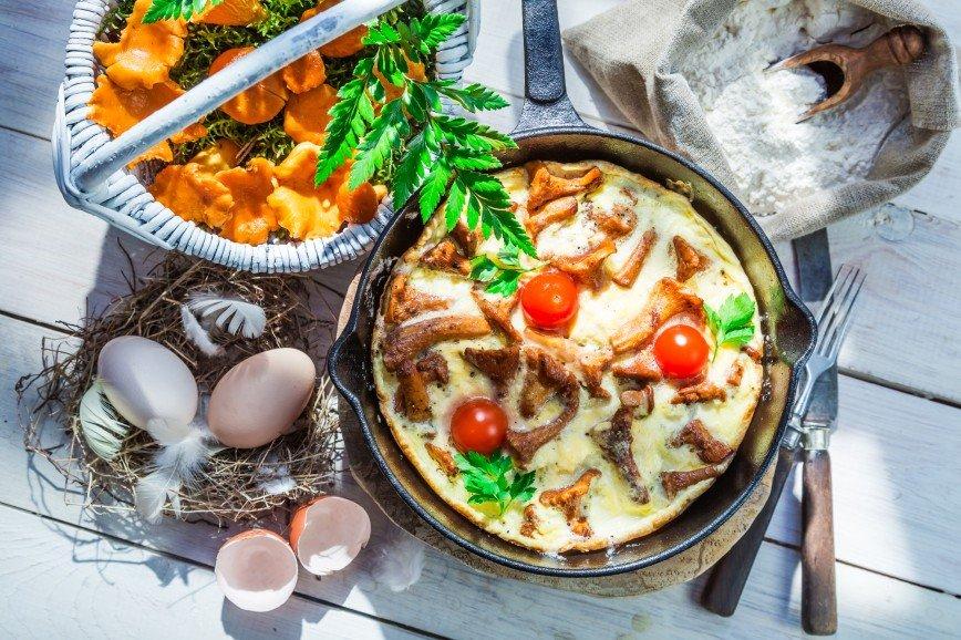 Осенний соблазн: топ-5 вкусных блюд с лисичками