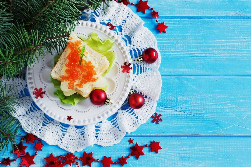 Для опаздывающих: быстрые закуски к Новогоднему столу