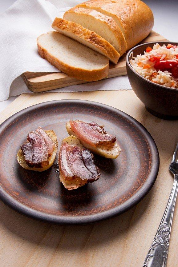Семейные рецепты - картофельные кораблики