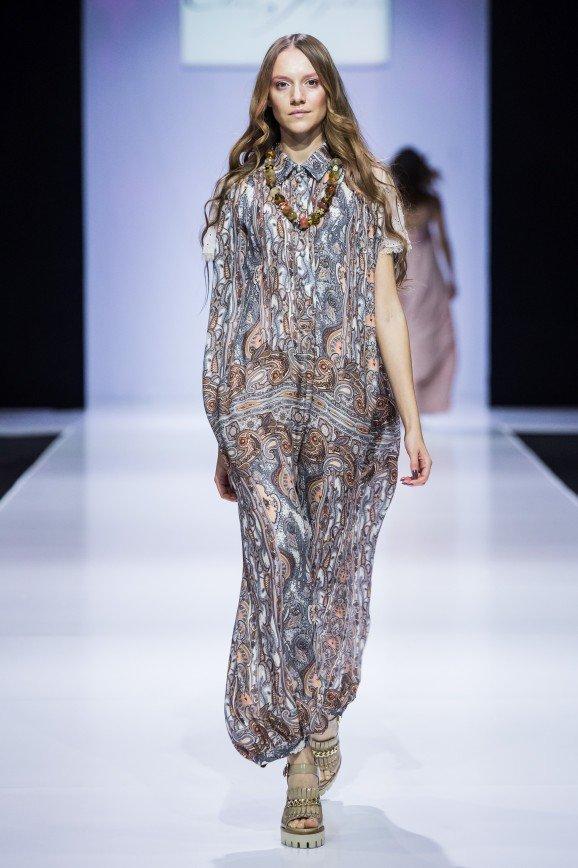 Elena Shipilova на Неделе моды в Москве