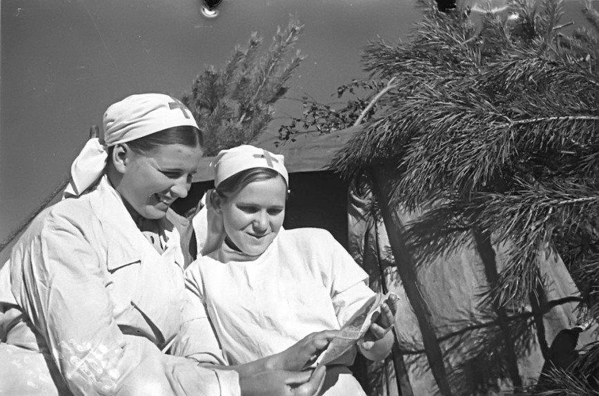 Женщины на войне: медицинская служба
