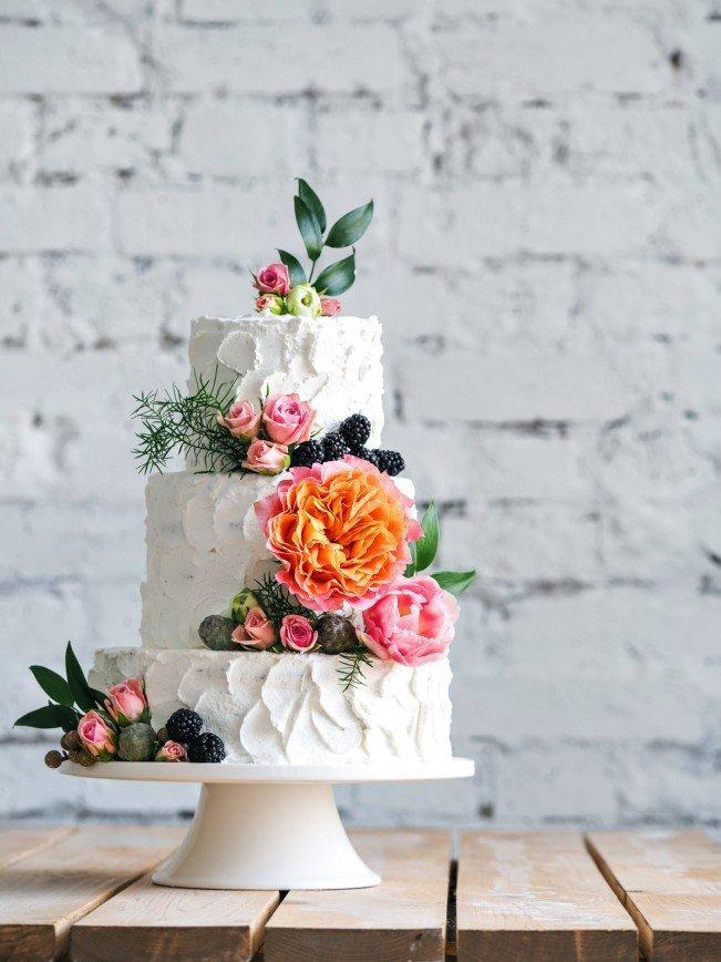Свадебные тренды 2017: выбираем торт