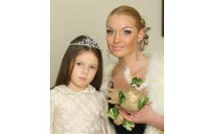 Анастасия Волочкова приучает 8-летнюю дочку к высоким каблукам