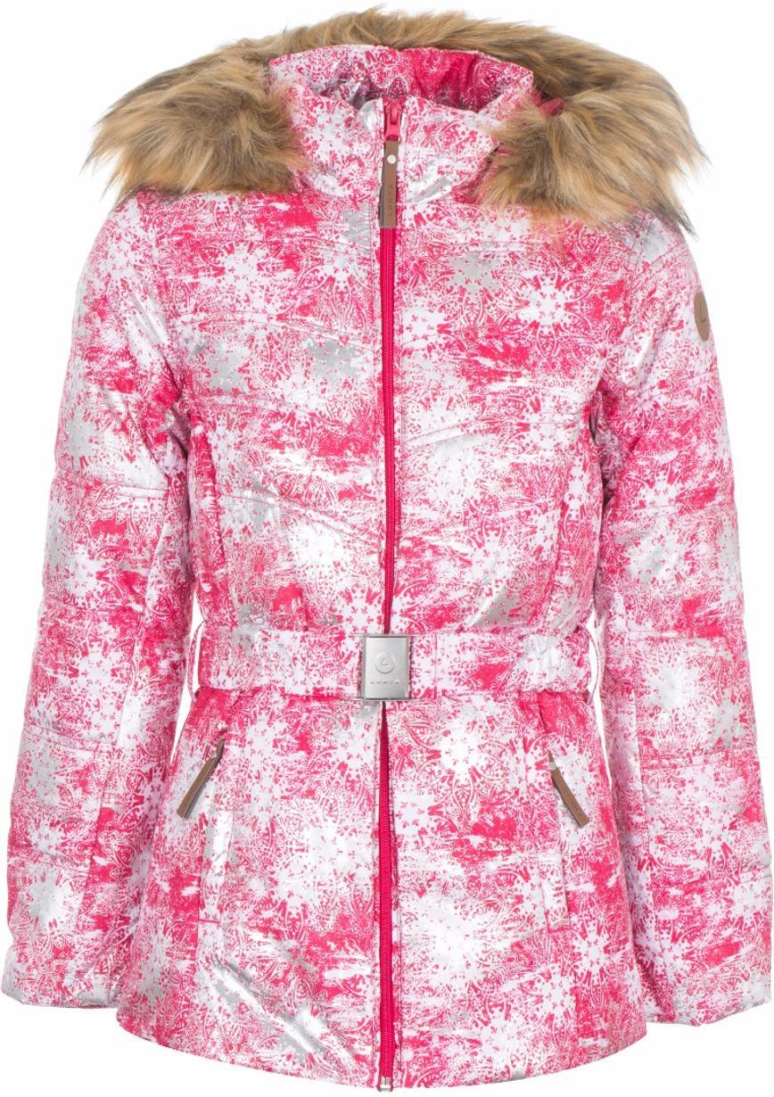 Зимняя куртка Лухта 164см. Б/у одну зиму. утеплитель - Finnwad. Длина от плеча 65см, ширина под проймой 48см. 2500р
