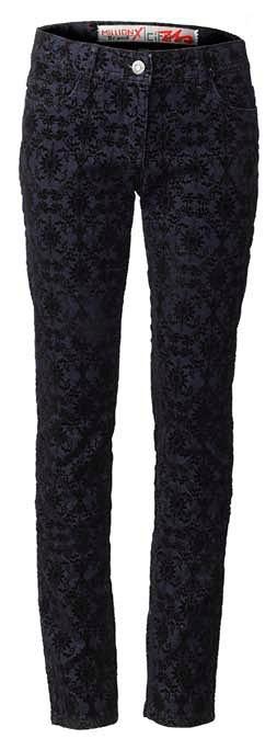 Пристрой джинсы с принтом, Литл Марс (Германия), размер 158. Цена 1000