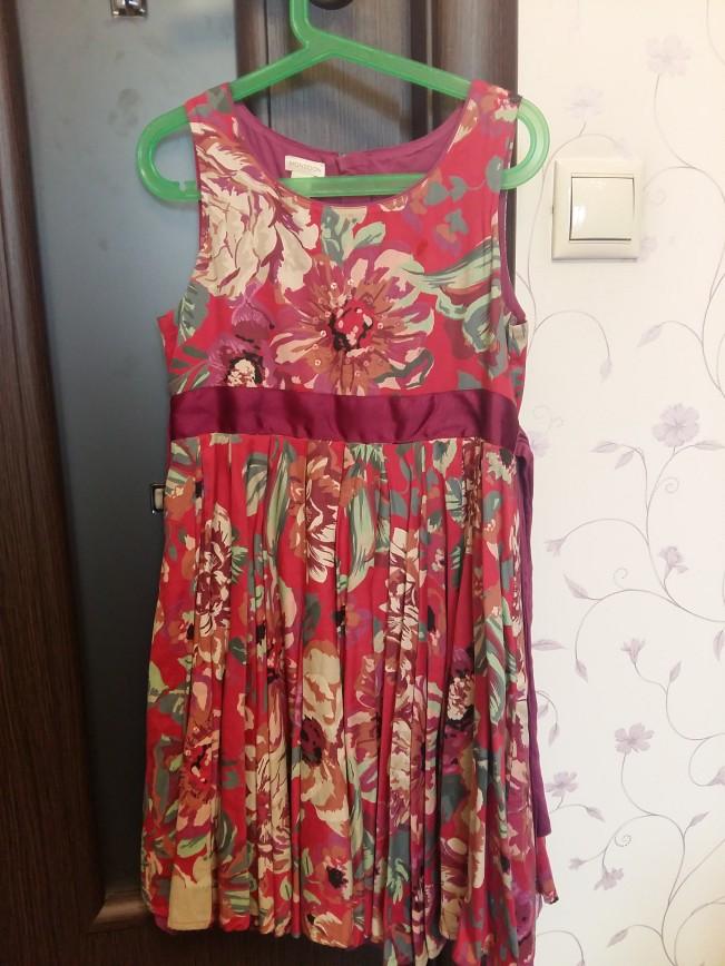 Платье Monsoon размер 134. Надевали 2-3 раза. Цена 1200