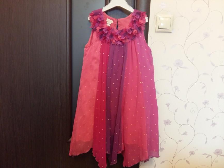 Платье Monsoon размер 152. Надевали 2-3 раза. Цена 1200