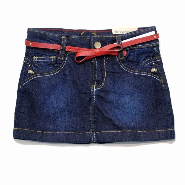 Юбка джинсовая Майораль, размер 134. Цена 1100 руб