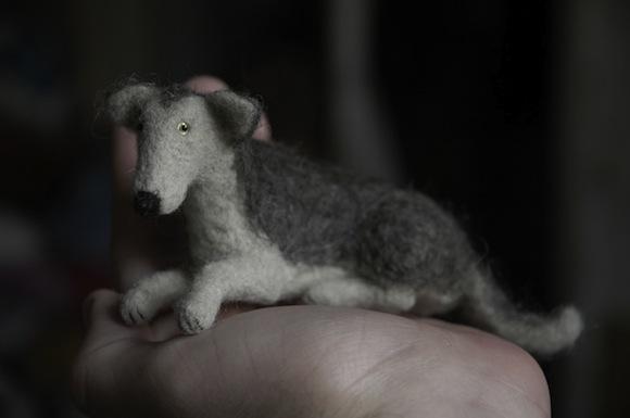 Теплые милые животные: войлочные игрушки от российского мастера