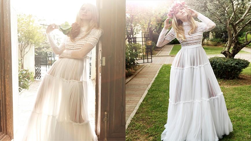 Свадебные платья от Христоса Костареллоса