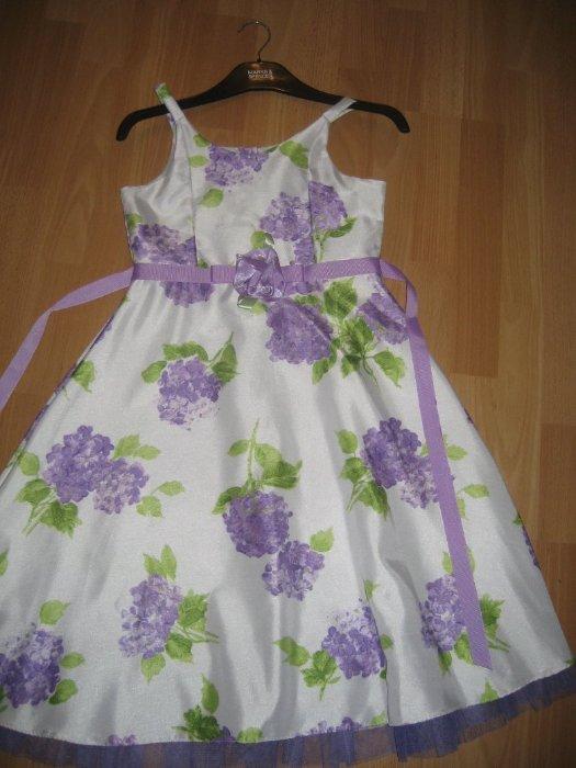 Платье привозное из СШа - маркировка 12 лет  Замеры ширина по подмышкам 37, в талии 34см длина до талии 30 см, общая длина платья - 90см, есть подклад  Цена 1300р