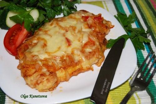 куриная грудка с сыром в кляре на сковороде рецепт с фото
