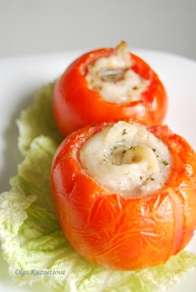 Рыбка в помидорке