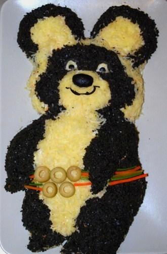 салат медведь рецепт с фото