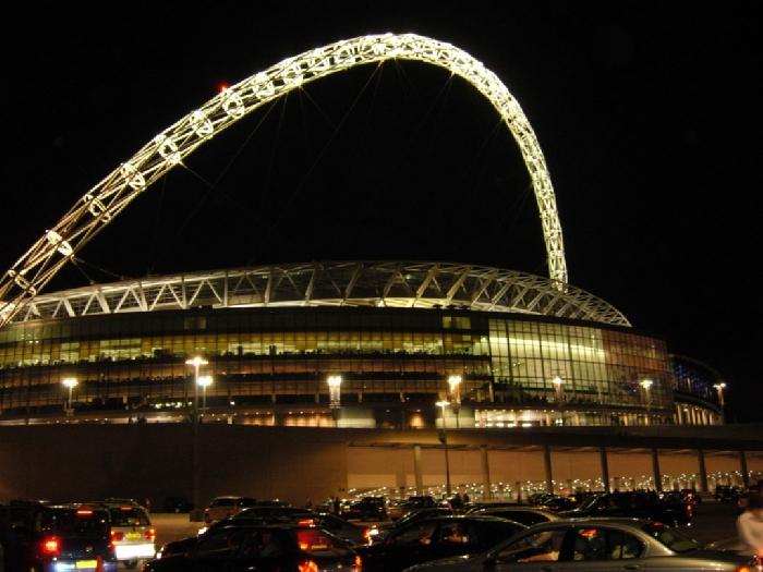 Стадион Wembley, Лондон, Англия. 3е место. Конкурс:Спортивные сооружения