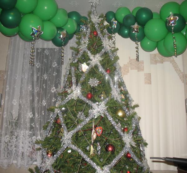 Новогодняя красавица 2007-2008 собственного дизайна:)