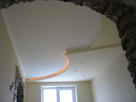 Потолок в столовой